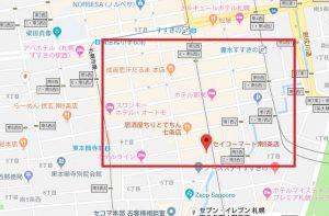 札幌すすきののラブホ街