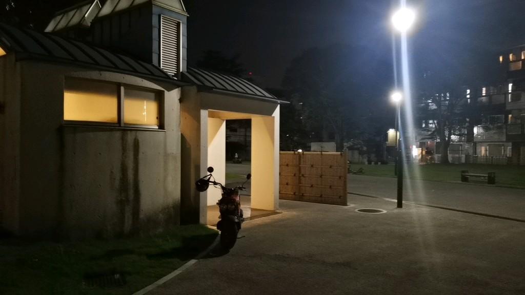 千葉の通町公園の公衆トイレ