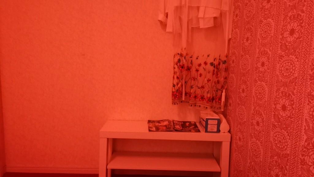 松島新地のヤリ部屋の棚