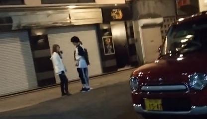 三角公園周辺で客引きするたちんぼ②