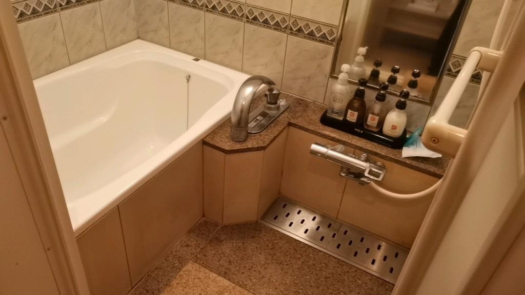 大塚のラブホテル「ビアンカドゥエ」のお風呂