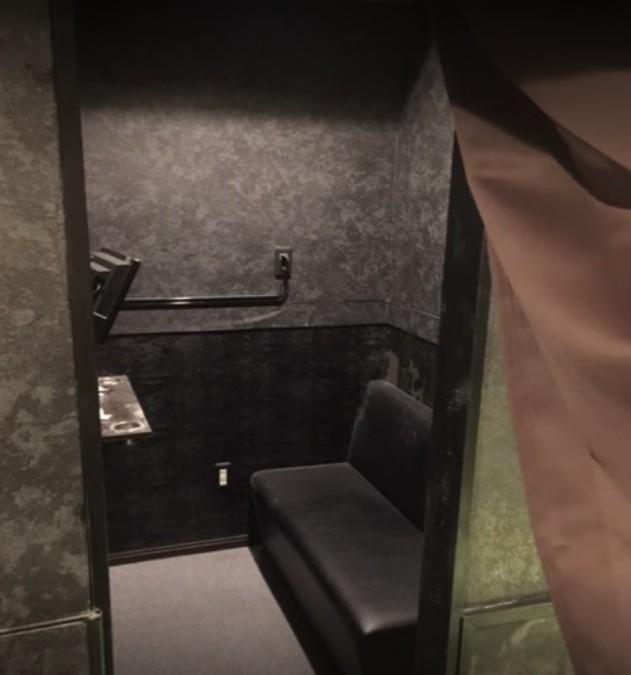 出会い喫茶「東京ドア」の個室
