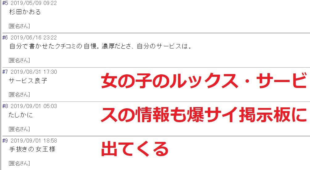 上野デリヘル倶楽部の爆サイ掲示板
