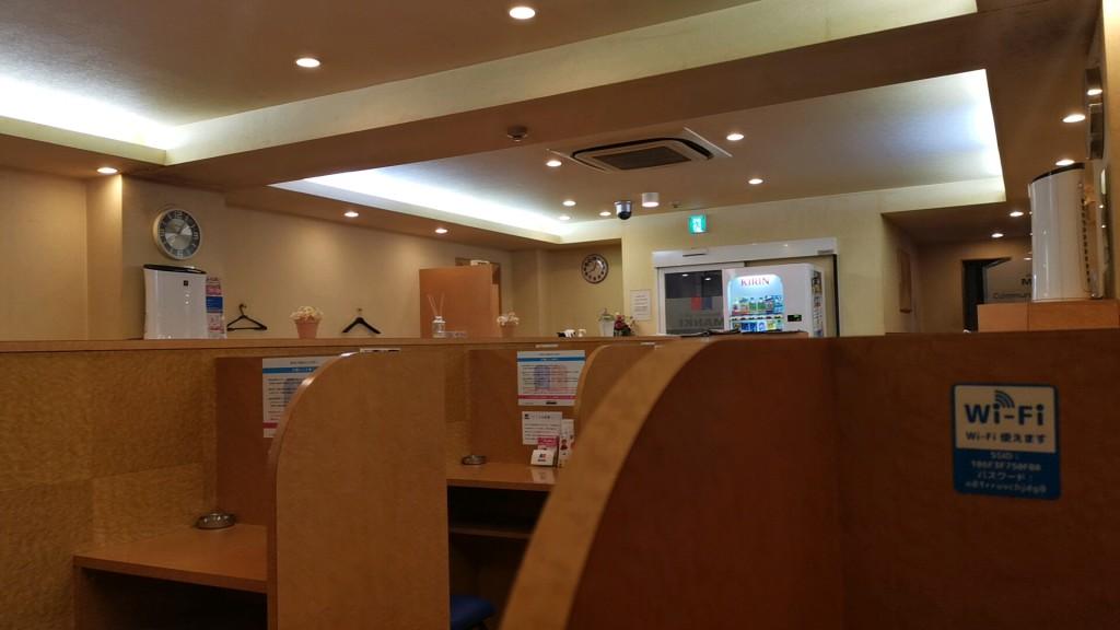 出会い喫茶manki三宮店の店内