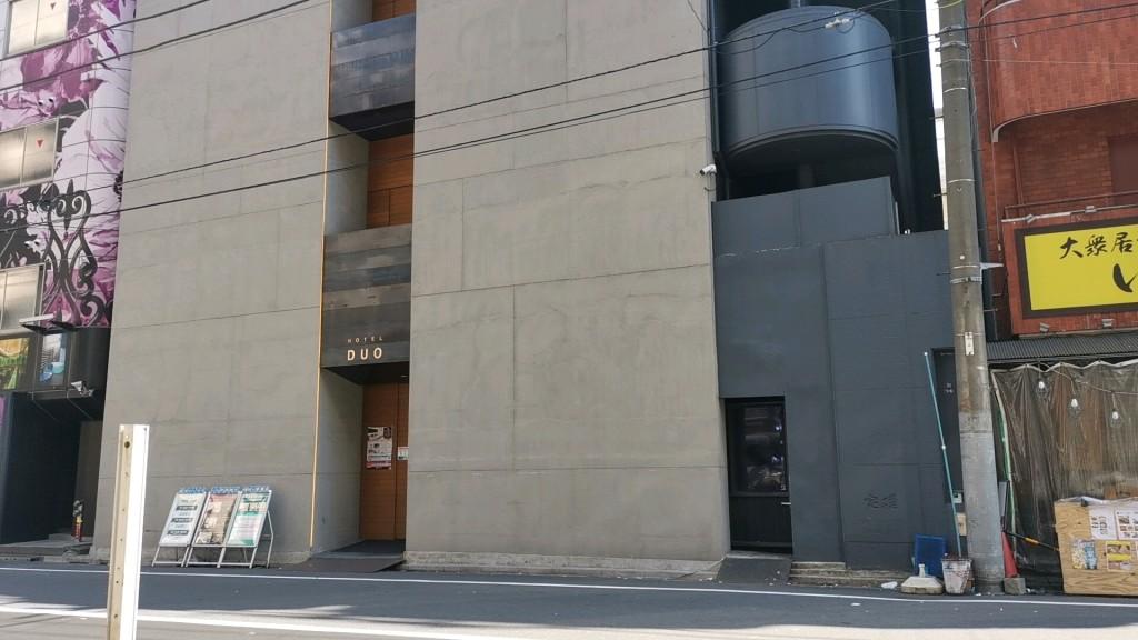 錦糸町ホテルDUOの外側