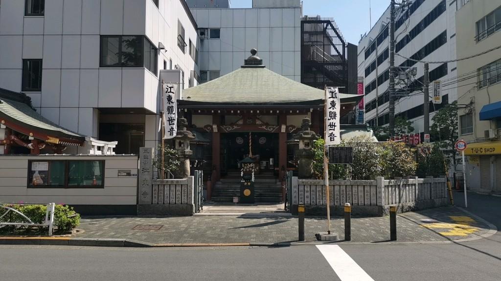 チャイエスの客引きが現れる江東寺