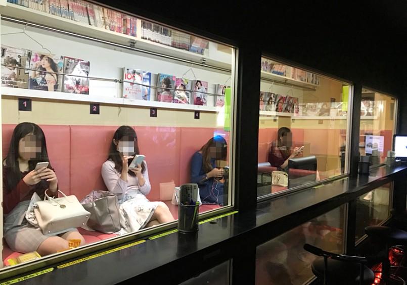 キラリ新宿一番街店の店内