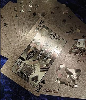 モモカフェでの抽選に使われるトランプカード