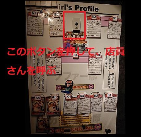 モモカフェ新宿本店のボード