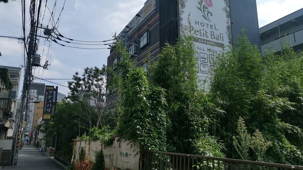 新大久保のラブホテル「プティバリ」
