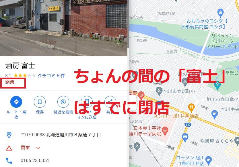 Google mapの富士の記載