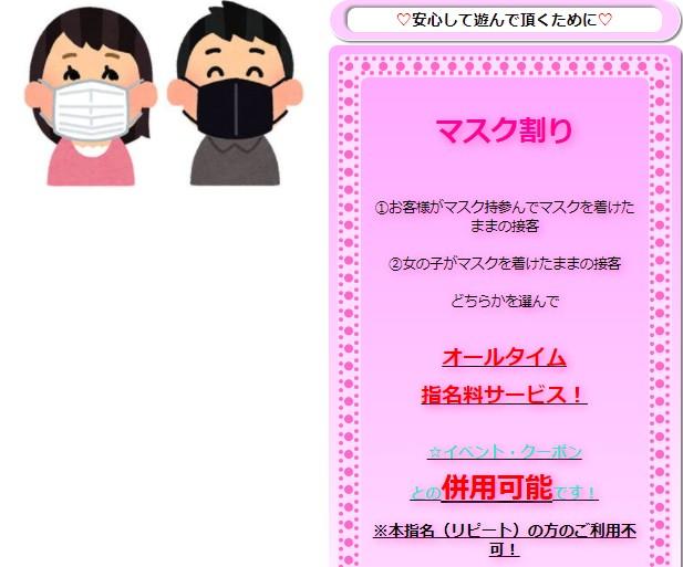千姫で行われてる「マスク割り」